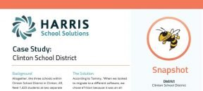 SNS eTrition Case Study AR Clinton School District