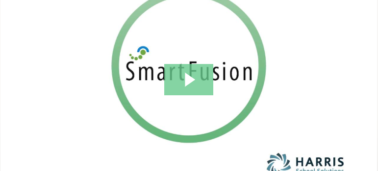 image of smartfusion demo video preview screen with smartfusion logo and play button