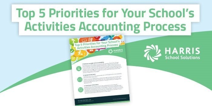 "Image of whitepaper under title, ""Top 5 Priorities for Your Activities Accounting Process."""