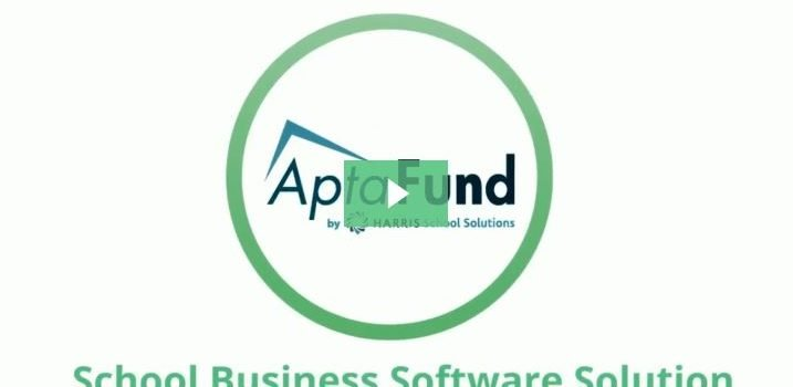 Thumbnail of aptafund explainer video with green play button in center.