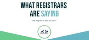 What Registrars Are Saying - Real Registrars. Real Solutions.