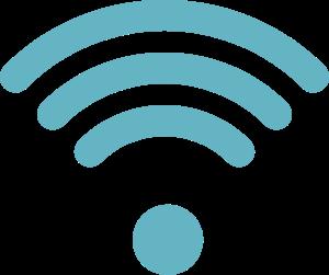 wifi icon in blue