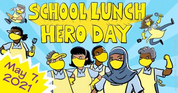 School Lunch Hero Day - SNA Poster